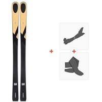 Ski Kastle LTD83 Proto 2020 + Fixations de ski randonnée + PeauxALTD8319