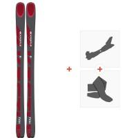 Ski Kastle FX86 2020 + Fixations de ski randonnée + PeauxAF8619
