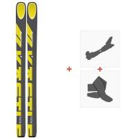 Ski Kastle FX116 2020 + Tourenbindungen + FelleAF11619