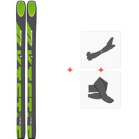 Ski Kastle FX106 HP 2020 + Tourenbindungen + FelleAF106H19