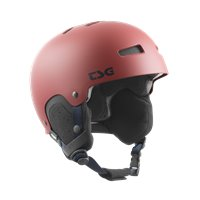 Casque de Ski TSG Gravity Solid Color Dark Red Satin 2020