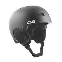 Casque de Ski TSG Gravity Solid Color Black Satin 2020