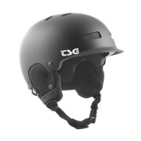 Casque de Ski TSG Trophy Solid Color Black Satin 2020