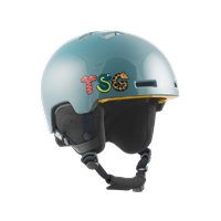 Casque de Ski TSG Arctic Nipper Mini Graphic Design Blue Lettimals 2020