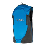 TSG Backbone Vest Junior Black/Blue 2020