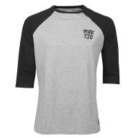 TSG 3/4 T-shirt Ripped Raglan Heather Grey Black 2020
