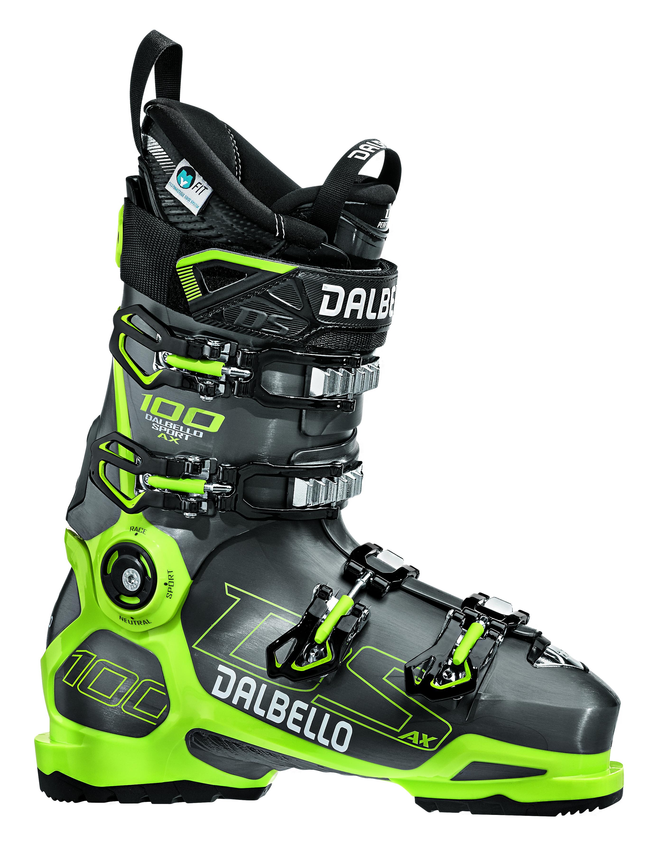 Dalbello DS AX 100 MS Anthracite/Acid