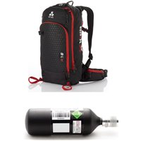 Arva Airbag Reactor 18 Black/Red Pack 2020
