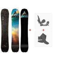 Splitboard Arbor Bryan Iguchi Pro Split 2020 + Fixations de splitboard + Peaux12034F19