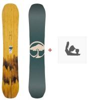 Snowboard Arbor Swoon Rocker 2020 + Fixations de snowboard12030F19
