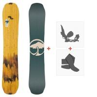 Splitboard Arbor Swoon Split 2020 + Fixations de splitboard + Peaux12035F19