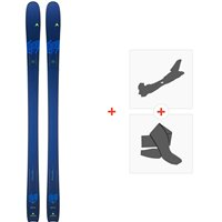 Ski Dynastar Legend 84 2020 + Fixations de ski randonnée + PeauxDAIS601