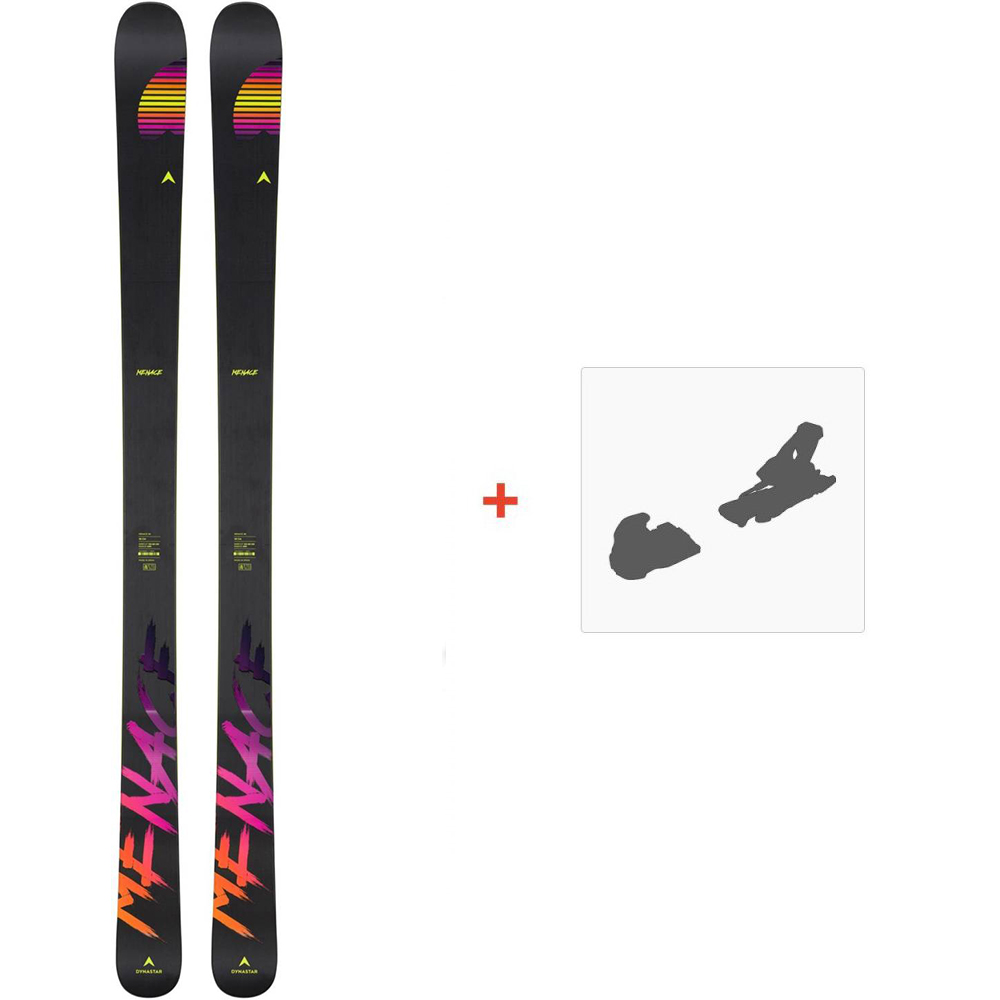 Ski Dynastar Menace 98 2020 + Fixations de skiDAIMD01