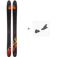 Ski Dynastar Menace Pr-Oto F-Team 2020 + Fixations de skiDAIS001