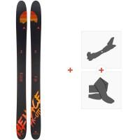 Ski Dynastar Menace Pr-Oto F-Team 2020 + Fixations de ski randonnée + PeauxDAIS001