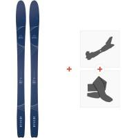 Ski Dynastar Mythic 87 2020 + Fixations de ski randonnée + PeauxDAIK901
