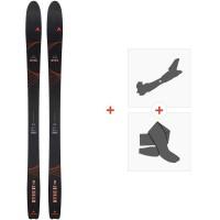 Ski Dynastar Mythic 87 Pro 2020 + Fixations de ski randonnée + PeauxDAIL001