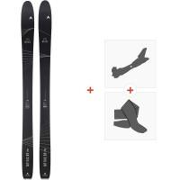 Ski Dynastar Mythic 97 Pro 2020 + Fixations de ski randonnée + PeauxDAIL601