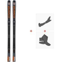 Ski Dynastar Pierra Menta F-Team 2020 + Fixations de ski randonnée + PeauxDAHZT01