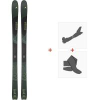Ski Dynastar Vertical 2020 + Fixations de ski randonnée + PeauxDAIM101