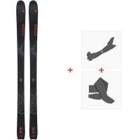 Ski Dynastar Vertical F-Team 2020 + Fixations de ski randonnée + PeauxDAIL701