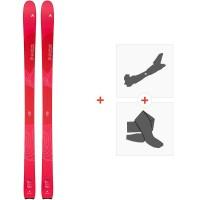 Ski Dynastar Vertical Pro W 2020 + Fixations de ski randonnée + PeauxDAIM202