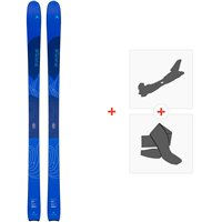 Ski Dynastar Vertical W 2020 + Fixations de ski randonnée + PeauxDRI02M1
