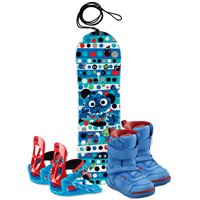 Snowboard Head Rowdy Kid 2018 + Fixation + Chaussures336807