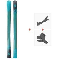 Ski Scott Speedguide 89 2020 + Fixations de ski randonnée + Peaux271791