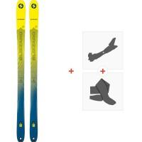 Ski Blizzard Zero G 085 2020 + Fixations de ski randonnée + Peaux8A914400.001