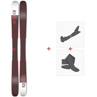 Ski Movement Fly Two 105 2020 + Fixations de ski randonnée + PeauxMOV-A-19026