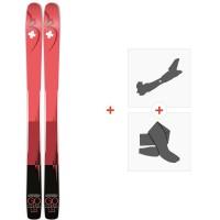 Ski Movement Go Titanal 100 W 2020 + Fixations de ski randonnée + PeauxMOV-A-19020