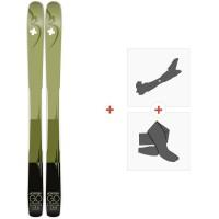Ski Movement Go Titanal 106 2020 + Fixations de ski randonnée + PeauxMOV-A-19022