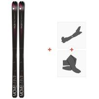 Ski Movement Race Pro 66 2020 + Fixations de ski randonnée + PeauxMOV-A-19071