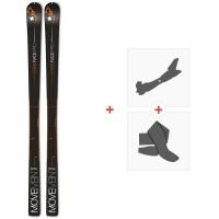 Ski Movement Race Pro 77 2020 + Fixations de ski randonnée + PeauxMOV-A-19073