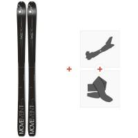 Ski Movement Race Pro 85 2020 + Fixations de ski randonnée + PeauxMOV-A-19074