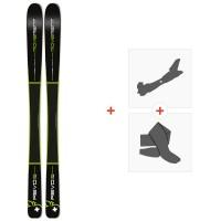 Ski Movement Revo Titanal 82 2020 + Fixations de ski randonnée + PeauxMOV-A-19002