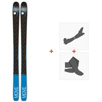 Ski Movement Session 85 2020 + Fixations de ski randonnée + PeauxMOV-A-19062