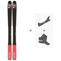 Ski Movement Session 89 W 2020 + Fixations de ski randonnée + PeauxMOV-A-19061