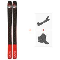 Ski Movement Session 98 2020 + Fixations de ski randonnée + Peaux