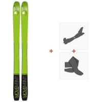 Ski Movement Vertex 84 2020 + Fixations de ski randonnée + PeauxMOV-A-19051