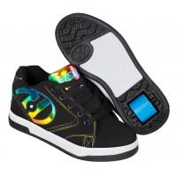 Heelys Chaussures Propel 2.0 Black/Rainbow Foil 2019