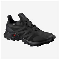 Salomon Shoes Supercross GTX W Black/Black/Black 2019