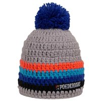 Poederbaas Colorful Hat - Gray / Orange / Blue / Black 2020