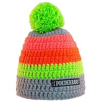 Poederbaas Colorful Crochet hat Gray / Green / Pink / Orange 2020