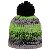 Poederbaas Men's Ski Hat - Black / Lime / Green / Gray 2020