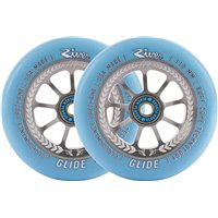 River Glide Juzzy Carter Pro Scooter Wheels 2-Pack 110mm - Serenity 2018