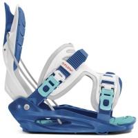 Fixation Snowboard Flow Micron Youth White/Blue 2020