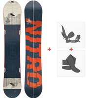 Snowboard Nitro Nomad Set 2020 + Splitboard Bindungen + Felle830419SET
