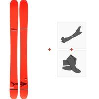 Ski Line Sir Francis Bacon Shorty 2020 + Fixations de ski randonnée + Peaux